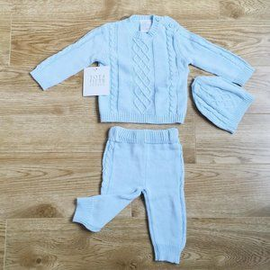 🆕0-3months Infant 3 Piece Outfit Style…